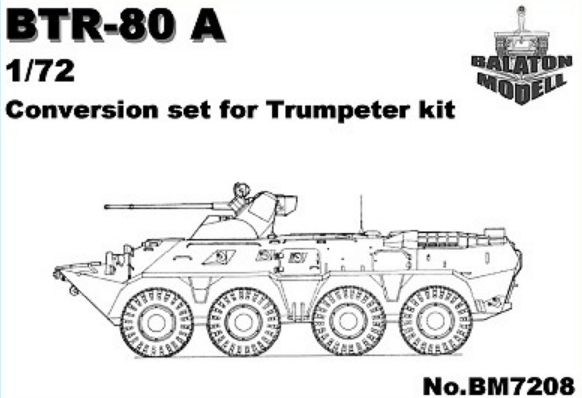 BTR-80 A conversion for Trumpeter - Image 1