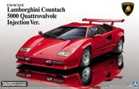 Lamborghini Countach 5000 Quattrovalvole Injection Ver.