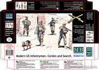 Modern US infantrymen. Cordon and Search - Image 1