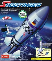 Shootinger water rocket for assembly
