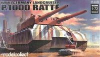 WWII Germany Landcruiser P.1000 Ratte