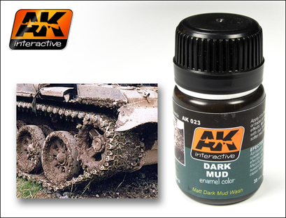 AK 023 Dark Mud effect - Image 1