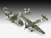 Combat Set Messerschmitt Bf109G-10 & Spitfire Mk.V - Model Set - Image 1