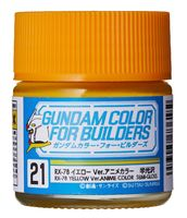 UG21 RX-78 Yellow Ver. ANIME COLOR (Semi-Gloss)