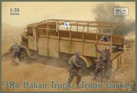 3Ro Italian Truck Troop Carrier