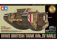 R/C WWI British Tank Mk.IV Male (w/Control Unit)