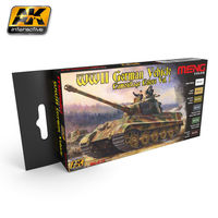 MC-813 WWII German vehicle camouflage colors vol.1 Set