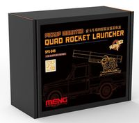 Pick-Up Mounted Quad Rocket Launcher - Image 1