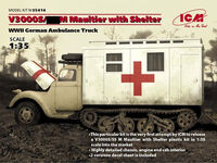 V3000S/SS M Maultier with Shelter, WWII German Truck - Image 1