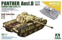 Panther Ausf. D Early/Mid Full Interior Kit  2-1