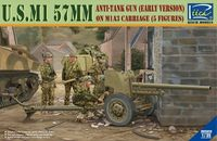 U.S. M1 57mm Anti-tank gun on M1A3 Carriage (early version) - Image 1