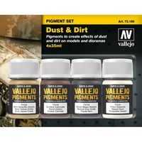73190 Pigment Set Dust & Dirt