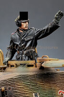 SS Panzer Commander Set (2 figs) - Image 1