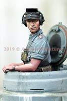 German Panzer Commander Summer Set - 2 figs - Image 1