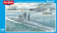 Peral - worlds first electric-powered Spain submarine