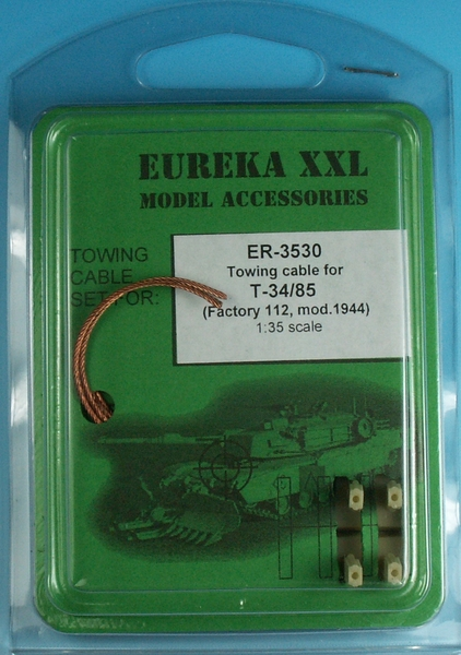 Towing cable for T-34/85 Mod.1944 Zavod 112 Tank - Image 1