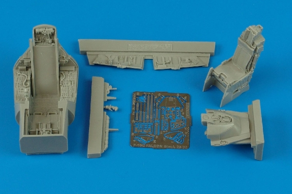 F-16C Falcon Block 25/32 cockpit set Tamiya - Image 1