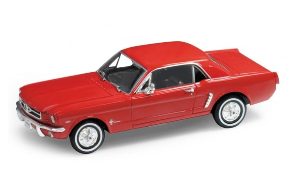 Ford Mustang 1964 COUPE, czerwony FORD MUSTANG 1964 COUPE - Image 1