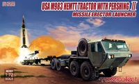USA M983 HEMTT Tractor with Pershing Ⅱ Missile Erector Launcher - Image 1