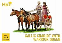 Celtic Chariot with Queen