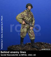 Behind enemy lines, Soviet Razvedchik w/MP40, 1941-45 - Image 1