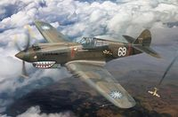"Curtiss P-40C (Hawk 81-A2) AVG ""Flying Tigers"""