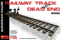 Railway Track & Dead end (Eur.gauge)